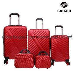 Comercio al por mayor llevar equipaje conjunto Hard Shell maleta vertical de viajes