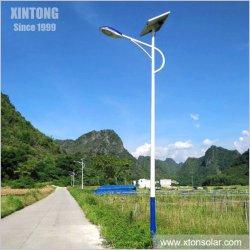 30W 40W em um único sistema integrado de LED de exterior a Solar tráfego de rua luz de LED