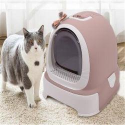 Горячая продажа Пэт материалы для чистки пластмассовых Cat туалет