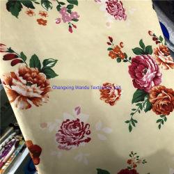 L'impression géométrique, fleur de l'impression, tissu de polyester à 100 % des exportations de textiles, imprimé à armure sergé Bedsheet plaine d'impression et de l'impression