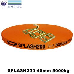 Dnv Gl, ISO9001 certificato 40mm 5000 chilogrammi tessuti frustando tessitura per imballaggio resistente