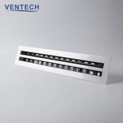 알루미늄 공급 선형 바 HVAC 천장 환기 슬롯 공기 확산기