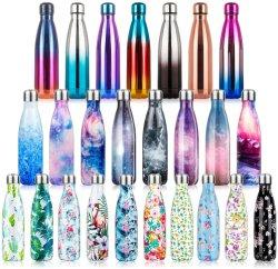 Umweltfreundliche Vakuum Sport Doppelwand Kupfer Edelstahl Thermos Cola Form Getränk isolierte Wasserflaschen mit Custom Logo