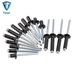 Aluminiumkarosserien-Stahldorn-blinder ziehender Niet mit schwarzer Farbe