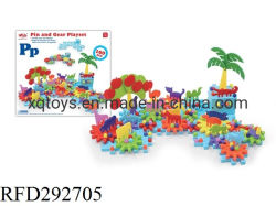 Pädagogischer anschließengroßhandelsgang 160PCS blockt Spielwaren