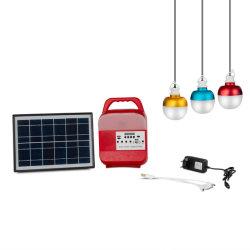 2021 Novo Sistema de Energia Solar Luz Solar Portátil/Sistema Solar com luz de decoração Rádio Solar SRE-689