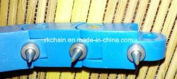 Encadenamiento de Multiflex con los empujadores/etiqueta engomada, encadenamientos del caso plástico