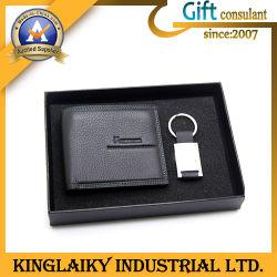 Nieuwigheid Genuine Leather Wallet in Set voor Gift (kem-009)