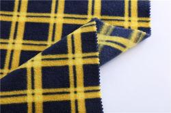 Imprimé de polyester Laine Polaire double impression unique de la brosse de Rock Forest semi-brillant flanelle en étoffe de bonneterie Vêtements Veste sportif décontracté