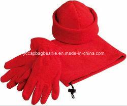 Micro fleece hat Glove foulard défini