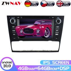 64 GB DSP CarPlay IPS Android 10-schermweergave GPS-navigatie Voor BMW E90 Auto Radio Audio Stereo Multimedia Player BT Hoofdeenheid