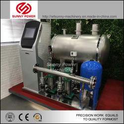 Bomba de agua automático para la construcción de agua con tanque de presión constante