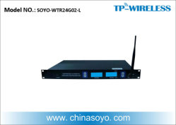 Berufsc$lang-abstand Wireless Audio Transmitter für Project (Support XLR und RCA)