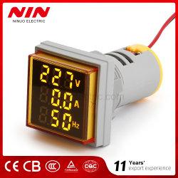 Frequência do visor tradim LED AC 0-100A AC V e a mm quadrado Voltímetro amperímetro de painel digital Leddigital