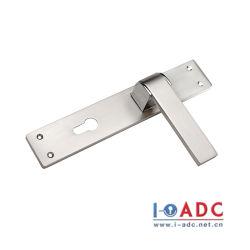 قفل الباب الخارجي المقاوم للحرارة من الألومنيوم I-ADC الطويل اضبط قفل المقبض