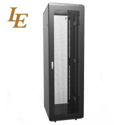 유리제 문 작은 19 인치 실내 방수 알루미늄 통신망 내각 원거리 통신 서버 선반
