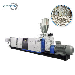 PE/PP/PA/PVC/ABS/PS/PC/EPE/EPS/Pet de Plastic Enige Schroef die van het Afval Pelletiserend Plastic Korrels die Machine maken recycleert