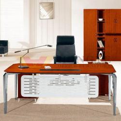 De taille moyenne Bevel Edge Directeur exécutif de la table (HY-D9520)