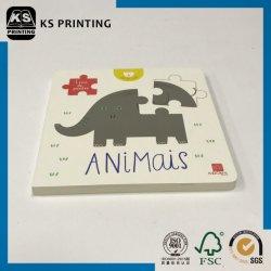 Tier-Puzzlespiel-Spielzeug-Vorstand-Buch der Kind-DIY 3D