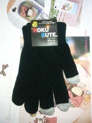 iPhone 4Sのタッチスクリーンのための冬の容量性手袋