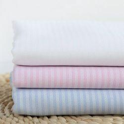 Chevrons rayures à armure sergé de coton fils teints ratière Blouses Textile tissu de chemise