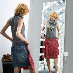 الأرضية الرائجة مرآة تركيب ذات إطار كامل للطول وديكور منزلى