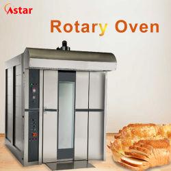 Fabricante de la fábrica de gas de las bandejas de 16 equipos de panadería Pastel de alimentos el aire caliente el horno rotativo horno Rack