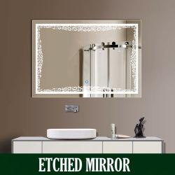 LED leuchtete Spiegel-LED beleuchteten Spiegel-Schrank für Hotel-Badezimmer