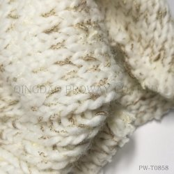 공간에 의하여 염색되는 매듭을%s 가진 땅딸막한 털실