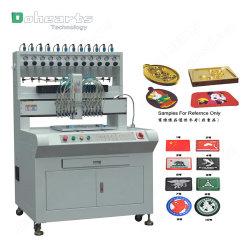 Goteo automático/Máquina dispensadora de PVC/silicona etiquetas