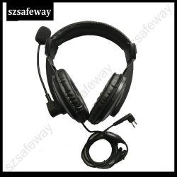 Bidirectionele RadioHoofdtelefoon voor Motorola Cp040 Ep450 Cp200 Cls1410