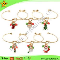 Fabriek Groothandel Kerstmis Gift Jewelry Charms Vrouwen Armbanden Bangles