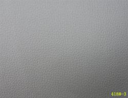En PVC de couleur gris en cuir pour le siège de voiture couvrir 418#-3