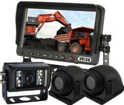 نظام فيديو الرجوع للخلف للرؤية الجوية للناقل/الشاحنة/المقطورة/الشاحنة، 3 كامو