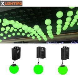 Lámpara de techo LED RGB DMX512 Luces decoración cinética