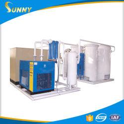 Hoher Reinheitsgrad 99% 40 Zylinder-pro Tag Sauerstoff-Gas-Füllmaschine