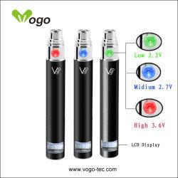 بطارية EGO رخيصة بيع E السجائر بطارية LED متغير الجهد هـ السجائر