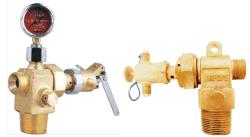 IG-541 brandblussysteem - klep pneumatische cilinder