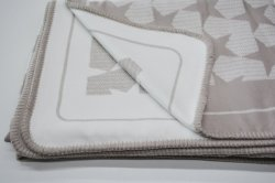 وصول جديد 100% بامبو Viscose جاكار تصميم بطانية مع تدلية الجودة