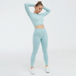 Женщин и 2 частей сетка сшитых Legging + спортивный бюстгальтер