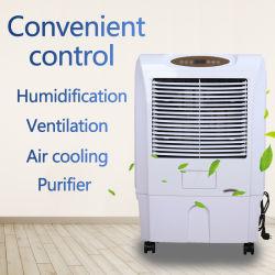 Dispositivo di raffreddamento di aria evaporativo portatile di raffreddamento ad acqua