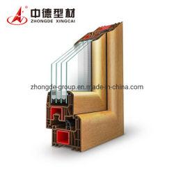 Los materiales de construcción de extrusión de alta calidad de UPVC/Ventana de PVC los perfiles plásticos perfiles OEM