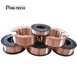 Мягкая сталь медным покрытием 0,8 мм 1,0 мм 1,2 мм 1,6 мм SG2, ER70s-6 CO2 MIG сварочная проволока