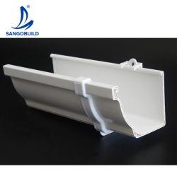 UV-beständig bunte Kunststoff K-Style PVC Square Regen Wasser Sammler Dachentwässerungssystem Regenrinne
