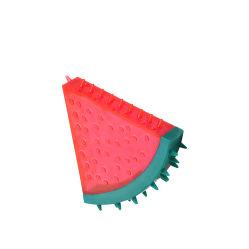 Forma de sandía de PVC Limpieza de dientes Perro mastique juguete bola