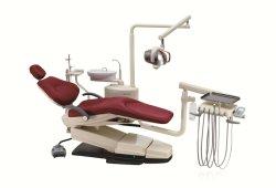 La meilleure qualité de l'unité de soins dentaires en cuir fauteuil dentaire profilé en aluminium (KJ-918)