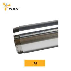 알루미늄 Al Target 순도 99.9-99.99% L4000mm 두께 6-15mm 직선 도그본 사용자 정의된 진공 용사 대상(96%) 2.6g/cm3