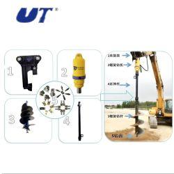 Nuevo diseño del sinfín de tractor hidráulico la plantación de árboles la excavación de las máquinas de venta