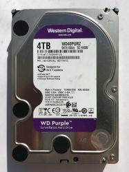 """Western Digital WD фиолетового цвета 4 Тбайт 5.4K 3,5"""" SATA 6 Гбит/с, 64 МБ Жесткий диск видеонаблюдения"""