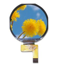 1.08 polegada rodada plena vista TFT LCD exibir